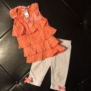 Little Lass ruffle outfit